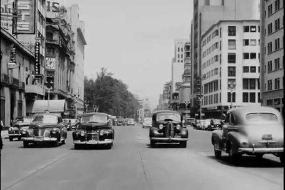 La ciudad de México en los cuarenta, ¡qué tiempos aquellos!