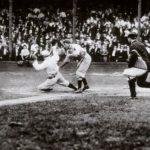 juego de baseball gente en las gradas 4 jugadores la historia del juego perfecto