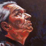 pintura del rostro de la cantante chavela vargas conoces la cancion mexicana de la llorona