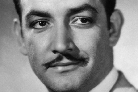 fotografia en blanco y negro del actor mexicano jorge negrete