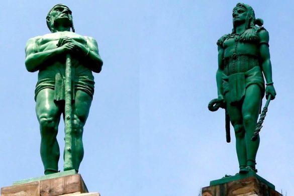 esculturas de los indios verdes en mexico sabes por que se llaman indios verdes
