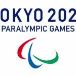 logo de los juegos paralimpicos de tokyo del dos mil veinte con letras azules