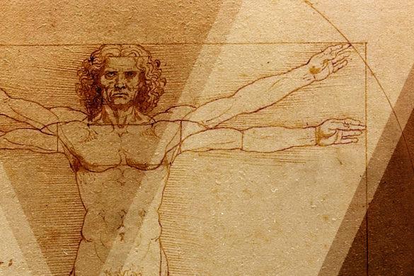 parte de la imagen del hombre de vitruvio de da vinci senales de desequilibrio hormonal
