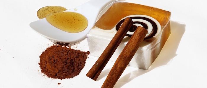 canela molida dos varitas de canela y recipiente blanco con miel prueba estos remedios