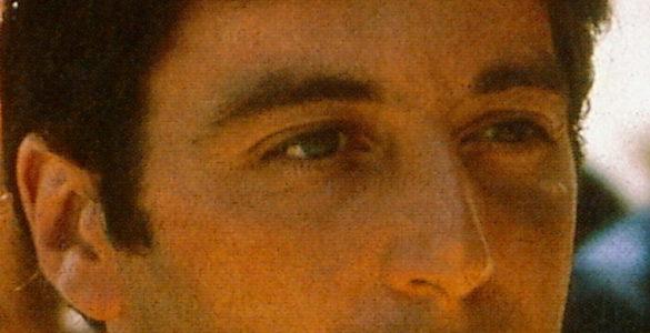 fotografia del actor de el padrino de sus ojos y nariz esta cinta cumple cuarenta y cuatro anos