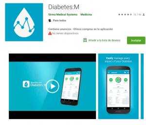 diabetes M app