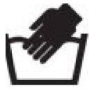 simbolo lavado a mano