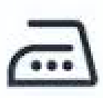 simbolo de planchado alto
