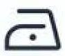 simbolo de planchado bajo